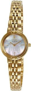 Citizen EX1092-57D Analog Mother Of Pearl Dial Women's Watch
