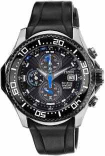 Citizen Eco-Drive BJ2110-01E Analog Black Dial Men's Watch (BJ2110-01E)