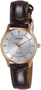 Citizen EM0403-02A Analog White Dial Men's Watch
