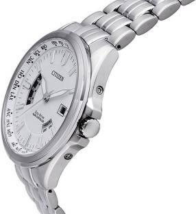 Citizen Eco-Drive CB0011-51A Analog White Dial Men's Watch
