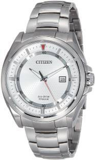 Citizen AW1401-50A Analog white Dial Men's Watch