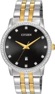 Citizen BI5034-51E Quartz Two Tone Stainless Steel Men's Watch (BI5034-51E)