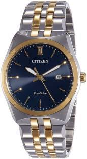 Citizen Eco-Drive BM7334-66L Analog Blue Dial Men's Watch