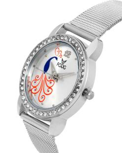 Fogg 4045-SL Analog Silver Dial Women's Watch (4045-SL)
