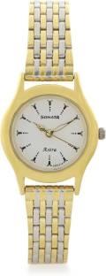 Sonata 87020BM02J Analog White Dial Women's Watch