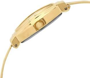Timex TW000JW21 Gold Dial Analog Women's Watch (TW000JW21)