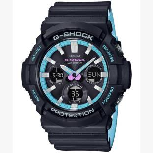 27c4d8fc906b Casio GAS-100PC-1ADR G787 Watch Online Buy at lowest Price in India (Black  Dial Analog Watch For Men) Offers   Coupons