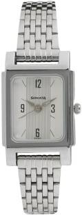 Sonata 87021SM01 Essentials Analog White Dial Women's Watch (87021SM01)
