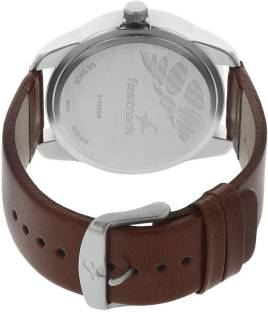 Fastrack 3123SL02 Casual Analog Silver Dial Men's Watch (3123SL02)