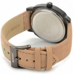 Curren 8 Brown Leather Strap Analog Men's Watch (8 Brown)