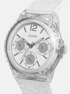 Guess W0947L2 White Dial Analog Women's Watche (W0947L2)