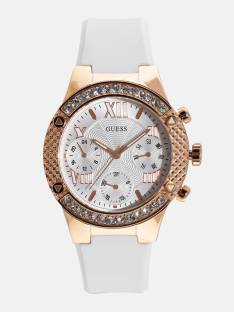 Guess W0773L6 White Analog Women's Watch (W0773L6)
