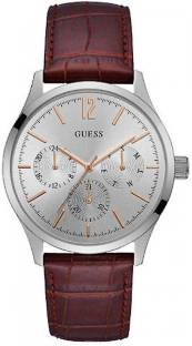 Guess W1041G1 Silver Dial Analog Men's Watch