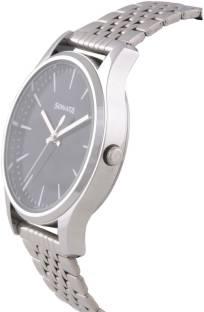 Sonata 77082SM01 Essentials Analog Black Dial Men's Watch