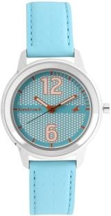Fastrack 6169SL02 Loopholes Analog Silver Dial Women's Watch