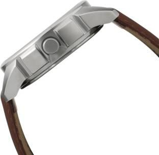 Fastrack 3124SL06 Loopholes Analog Grey Dial Men's Watch (3124SL06)