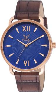 Fogg 1128 BL Analog Blue Dial Men's Watch (1128 BL)