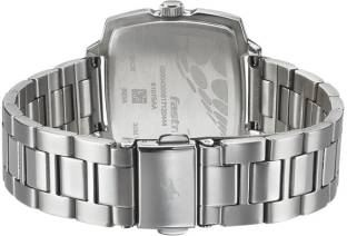 Fastrack 6167SM01 Loopholes Analog Silver Dial Women's Watch