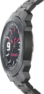 Fastrack 3168NM01 Loopholes Analog Black Dial Men's Watch (3168NM01)