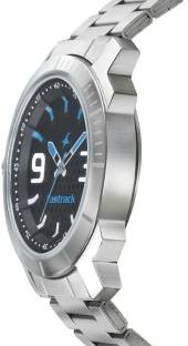 Fastrack 3168SM02 Loopholes Analog Black Dial Men's Watch