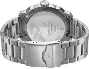 Fastrack 3168SM02 Loopholes Analog Black Dial Men's Watch (3168SM02)