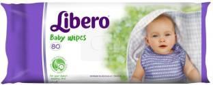 Libero Wet Baby Wipes, 80 Pieces