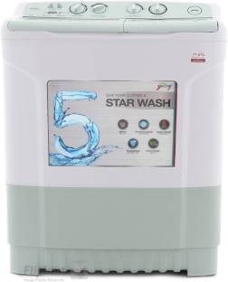 Godrej 6.8Kg Top Load Semi Automatic Washing Machine Apple Green (WS 680 CT, Maroon)