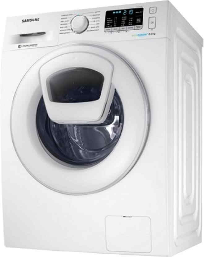 Samsung 8Kg Fully Automatic Washing Machine (WW80K5210WW/TL)