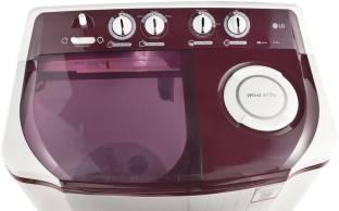 LG 6.5Kg Top Load Semi Automatic Washing Machine Maroom (P7559R3FA, Maroom)