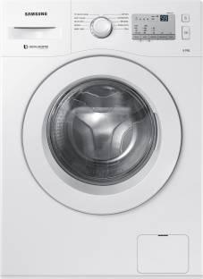 Samsung 6Kg Front Load Fully Automatic Washing Machine White (WW60M206LMA/TL, White)