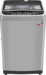 LG 8Kg Top Load Fully Automatic Washing Machine Silver (T9077NEDL1, Silver)