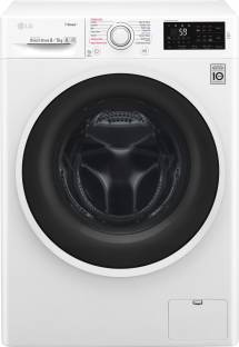 LG 8.5Kg Font Load Fully Automatic With Dryer Washing Machine (F4J6TGP0W)
