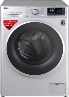 LG 7.0 kg Fully Automatic Front Load Washing Machine Silver(FHT1007SNL)