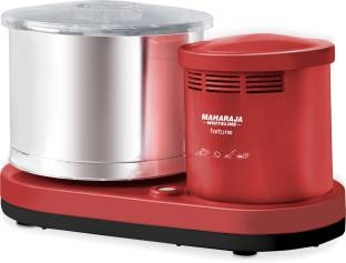 Maharaja Whiteline Wet Grinder Fortune 150 Watt Mixer Grinder, Cherry Red