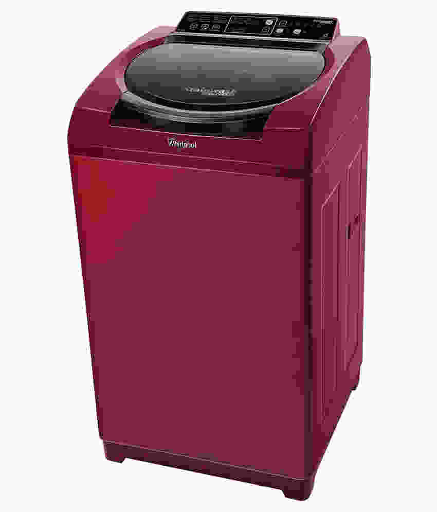 Whirlpool 6.2Kg Fully Automatic Top Load Washing Machine Wine (Stainwash D Clean DC62, Wine)