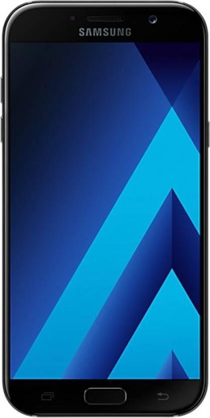 Samsung Galaxy A7 (Samsung SM-A720FZKDINS) 32GB Black Mobile