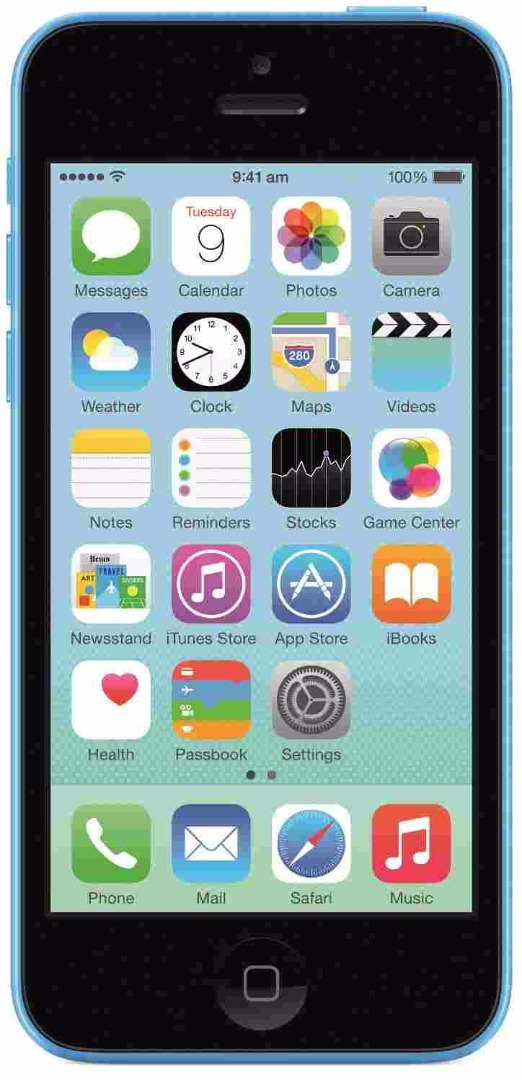 Apple iPhone 5c 8GB Blue Mobile