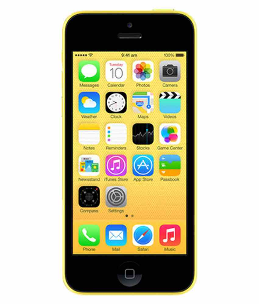 Apple iPhone 5c 16GB Yellow Mobile