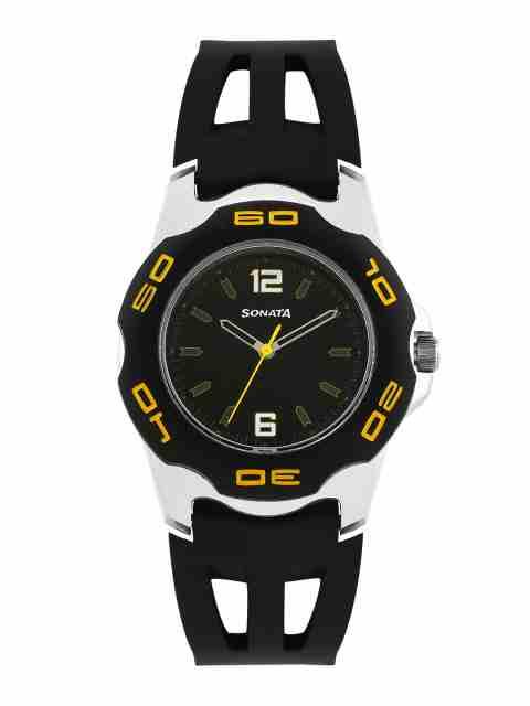 Sonata 7929PP02 Analog Black Dial Men's Watch