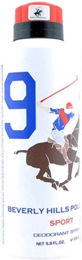 Beverly Hills Polo Club No9 Deodorant For Men- 175 ml
