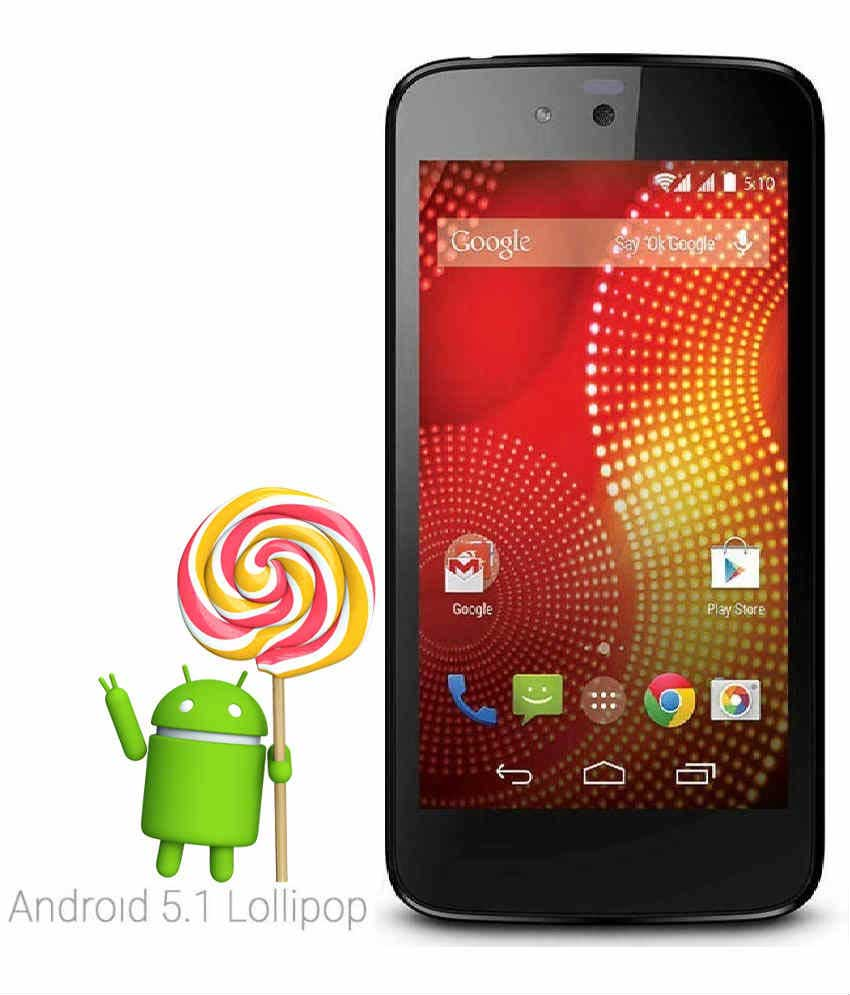 Karbonn Android One Sparkle V 4 GB Red Mobile