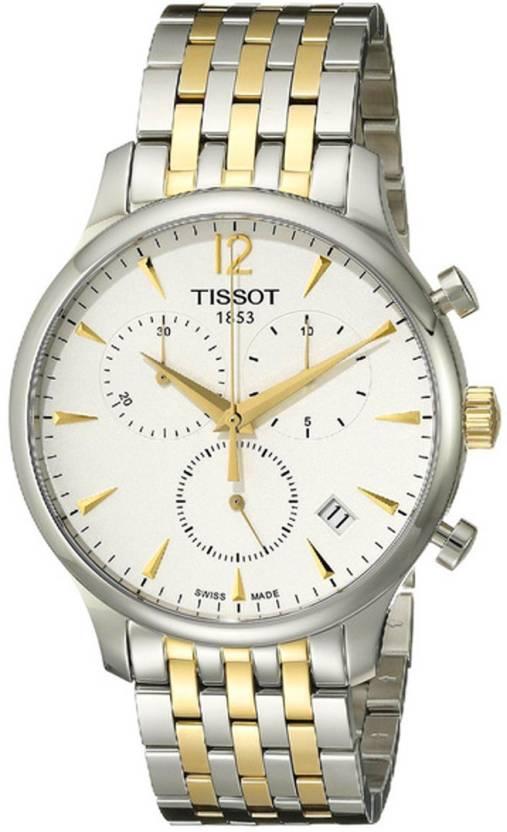 Tissot T0636172203700 Analogue White Dial Men's Watch (T0636172203700)