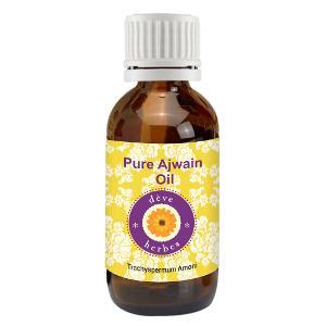 Deve Herbes Pure Ajwain Essential Oil 30 ml - Trachyspermum Amoni