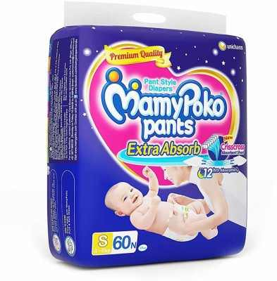 Mamy Poko Pants tyle S Diapers (60 Pieces)