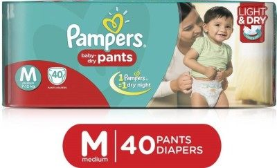 Pampers Pants Baby M Diapers (40 Pieces)