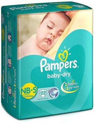 Pampers Dry S Diapers (22 Pieces)