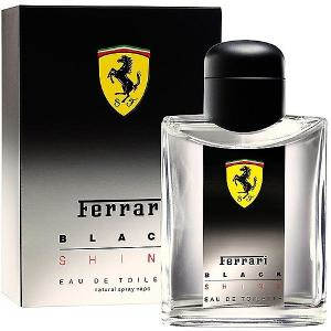 Ferrari Black Shine EDT For Men- 125 ml
