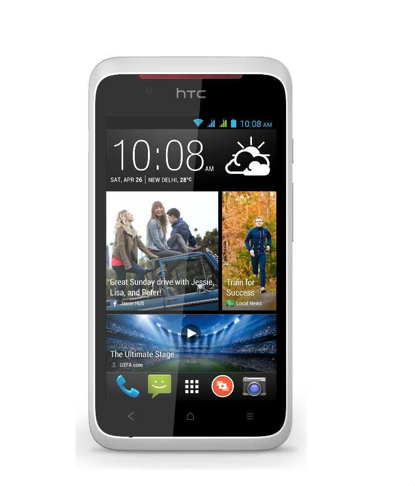HTC desire 210 4 GB White Mobile