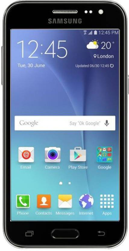 Samsung Galaxy J2 8GB Black Mobile