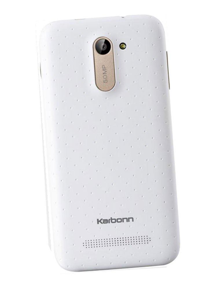 Karbonn Titanium Dazzle S201 8GB White Mobile
